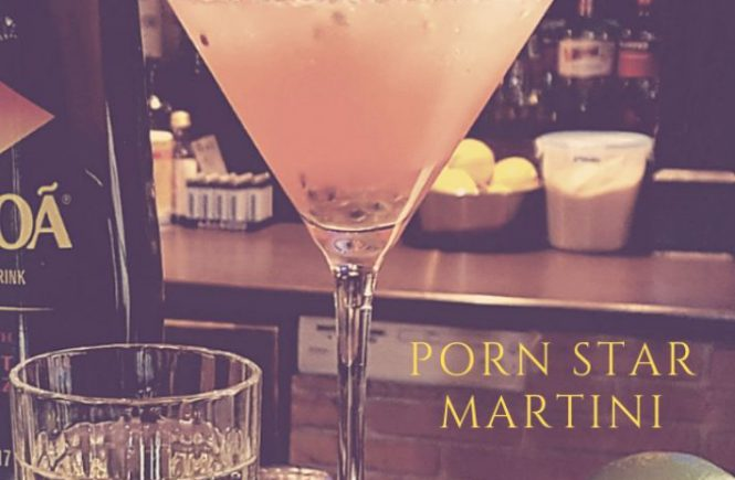 Porn Star Martini cocktail recipe