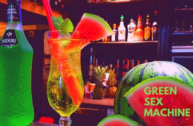 GREEN SEX MACHINE COCKTAIL Recipe