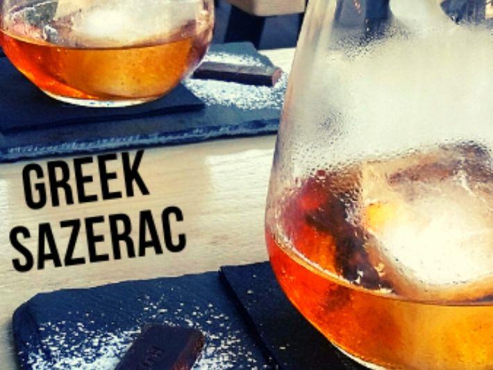 GREEK SAZERAC COCKTAIL Recipe