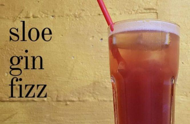SLOE GIN FIZZ Recipe