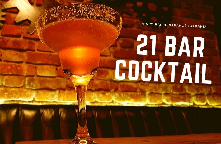 The 21 BAR COCKTAIL RECIPE from Albania