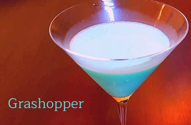 Grashopper Cocktail Recipe