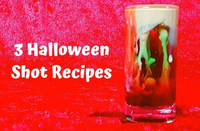 3 Halloween Shot Recipes
