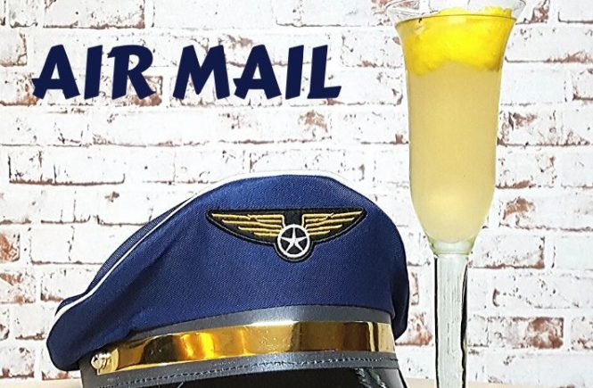 Air Mail Cocktail