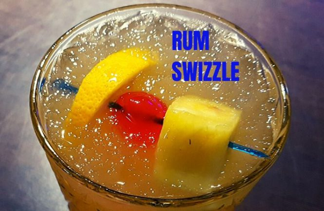 Rum Swizzle Cocktail Recipe