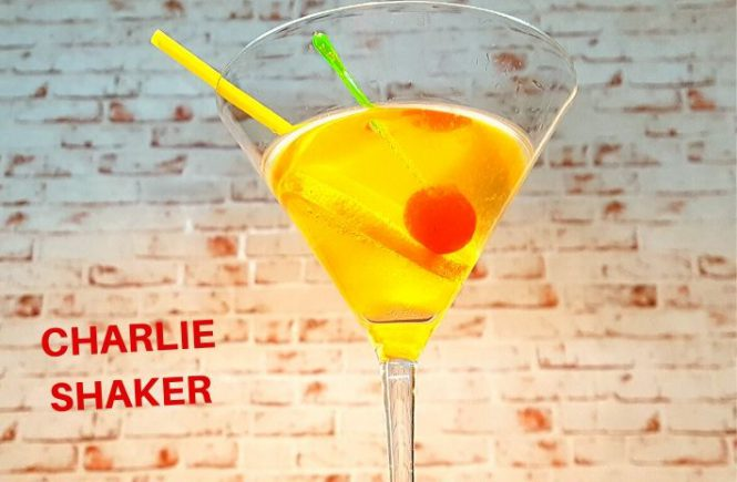Charlie Shaker Cocktail