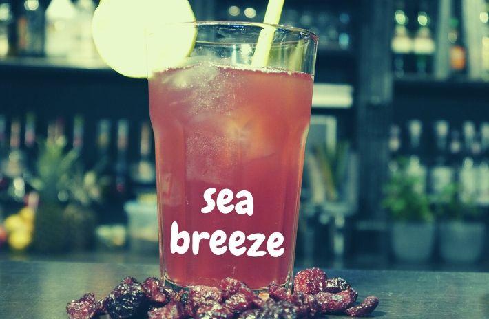 Sea Breeze Cocktail Recipe