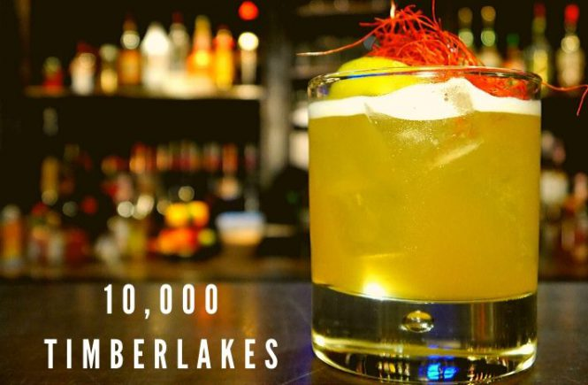 How to make the 10,000 Timberlakes Cocktail