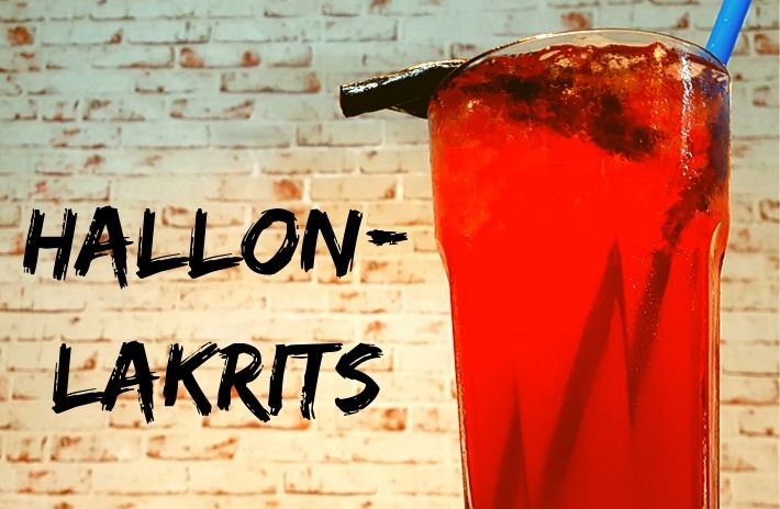 Hallon-Lakrits Cocktail
