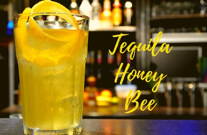 TEQUILA HONEY BEE COCKTAIL Recipe