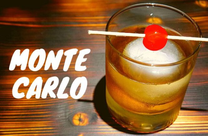 MONTE CARLO COCKTAIL Recipe