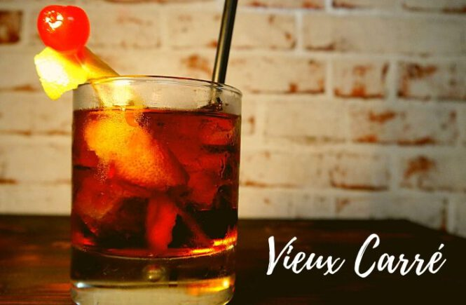 VIEUX CARRÉ COCKTAIL Recipe