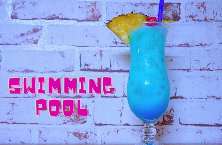 SWIMMING POOL COCKTAIL Recipe
