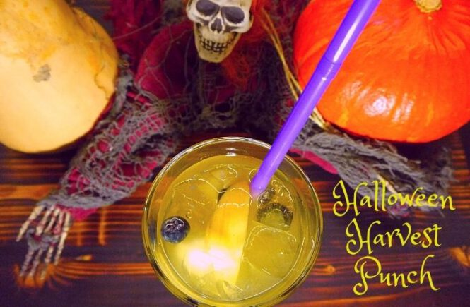 HALLOWEEN HARVEST PUNCH COCKTAIL