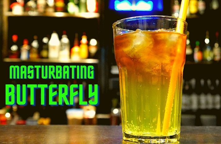 MASTURBATING BUTTERFLY COCKTAIL Recipe