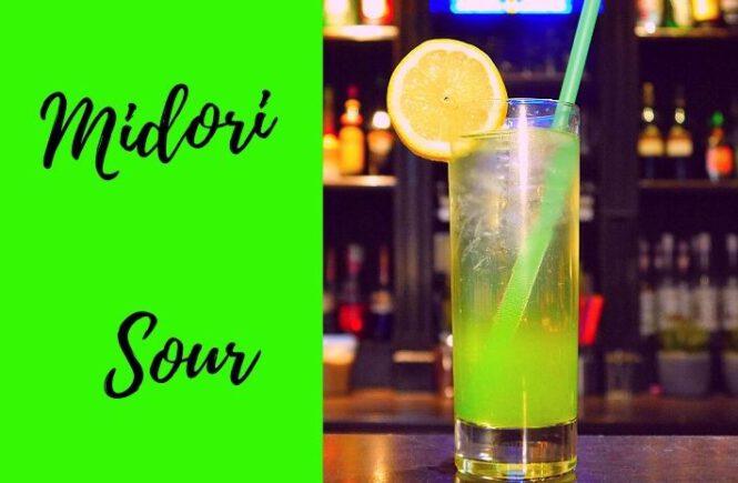 MIDORI SOUR COCKTAIL Recipe