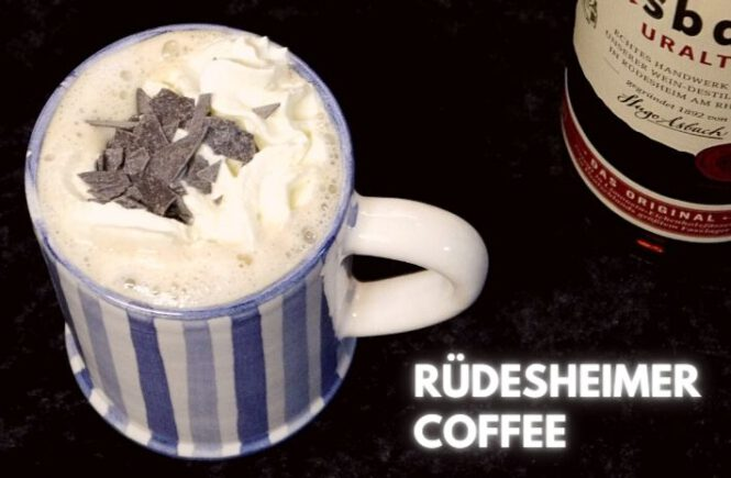 RÜDESHEIMER COFFEE COCKTAIL Recipe