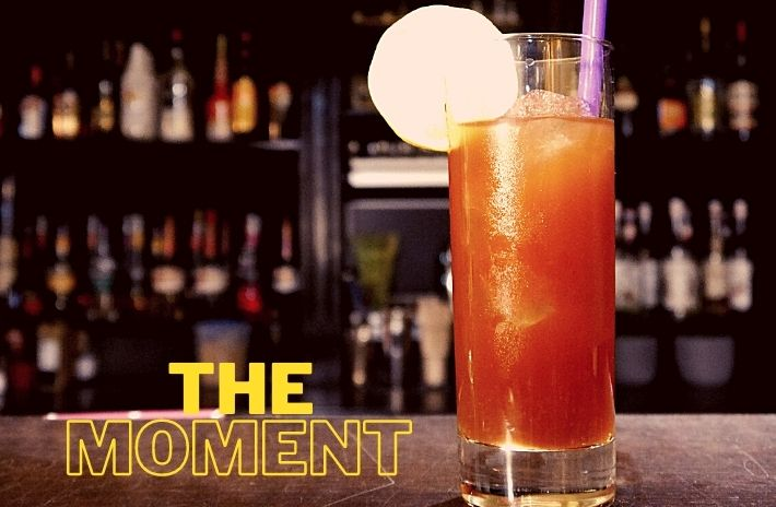 THE MOMENT COCKTAIL Recipe