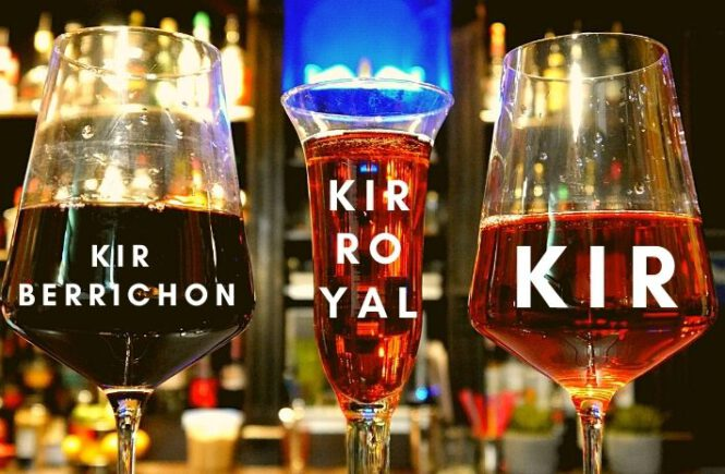 3 KIR COCKTAILS