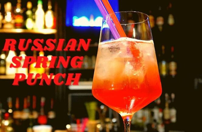 RUSSIAN SPRING PUNCH Cocktail