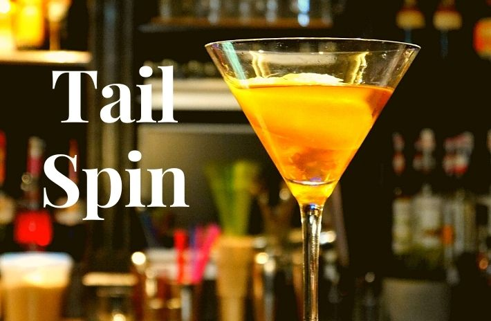 How to make the Tailspin Cocktail