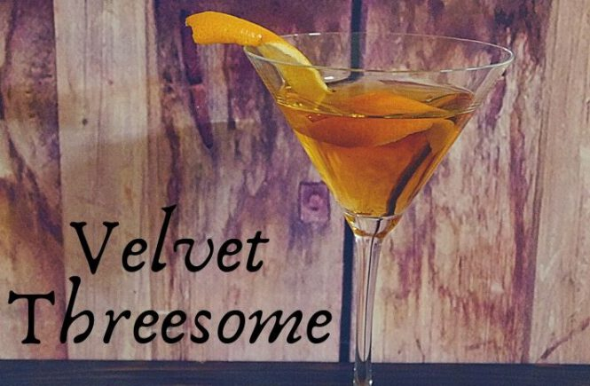 VELVET THREESOME COCKTAIL Recipe