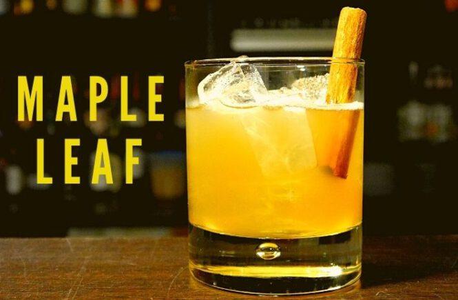 MAPLE LEAF COCKTAIL Recipe