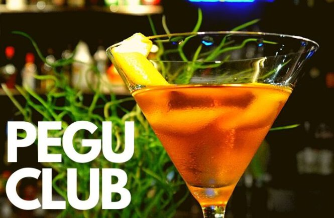 PEGO CLUB COCKTAIL Recipe