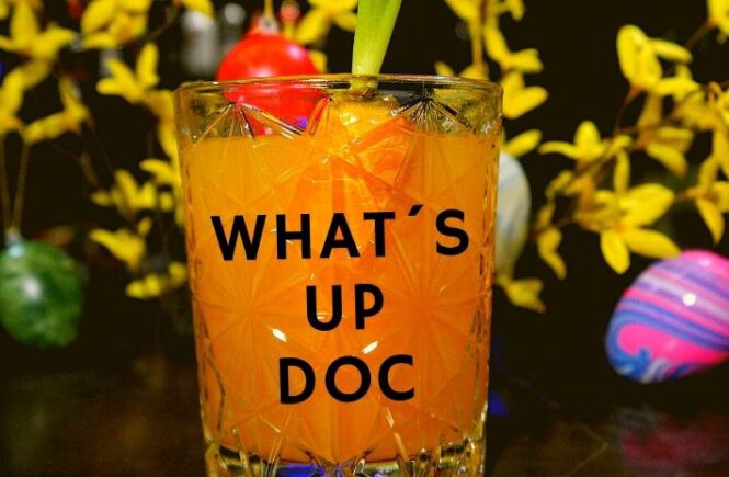 WHAT´S UP DOC / EASTER COCKTAIL 2021 Recipe