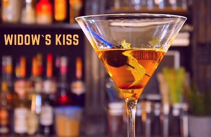 How to make the Widow`s Kiss Cocktail