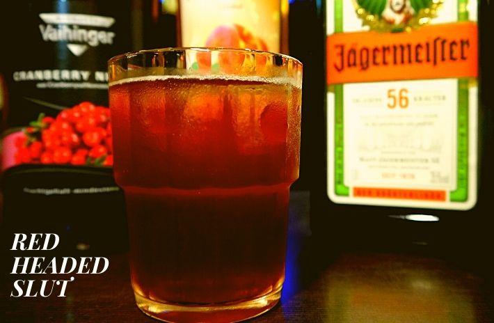 RED HEADED SLUT COCKTAIL Recipe