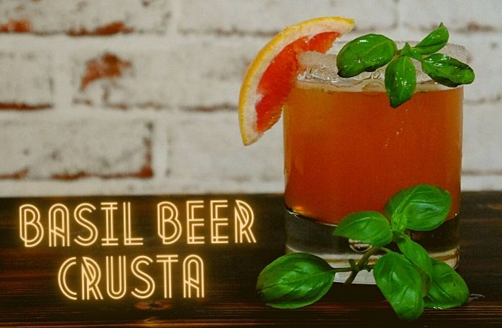 How to make the Basel Beer Crusta Cocktail