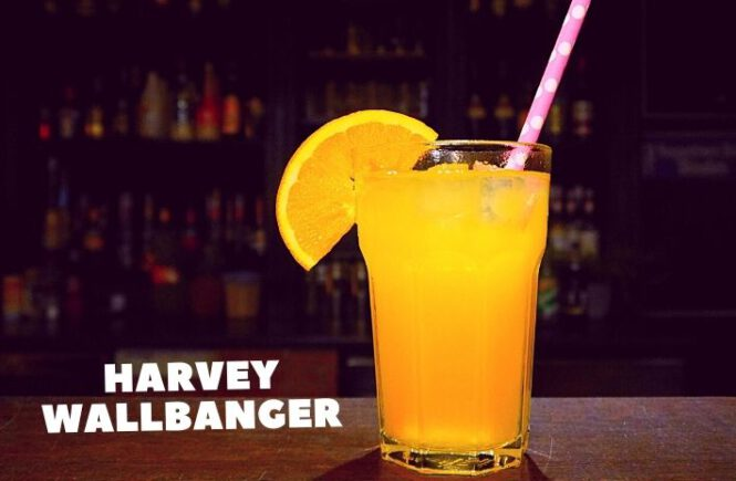 HARVEY WALLBANGER COCKTAIL Recipe