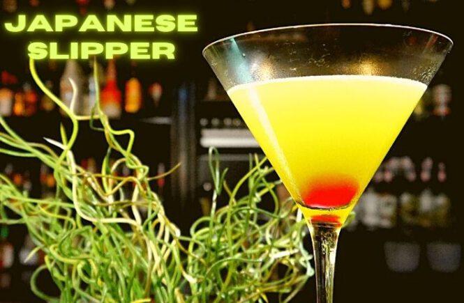 JAPANESE SLIPPER COCKTAIL Recipe