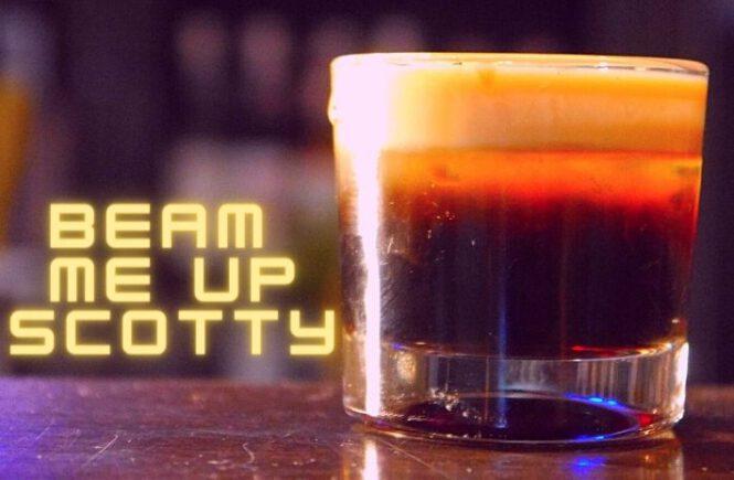 BEAM ME UP SCOTTY SHOT Recipe
