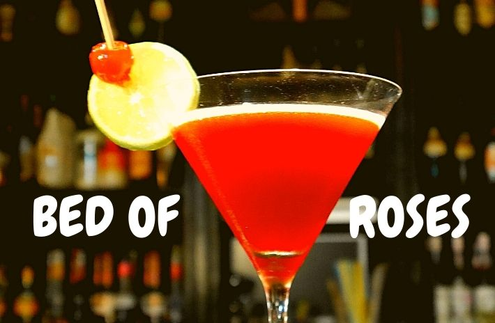 BED OF ROSES COCKTAIL Recipe
