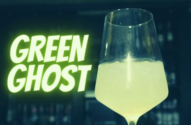 GREEN GHOST COCKTAIL Recipe