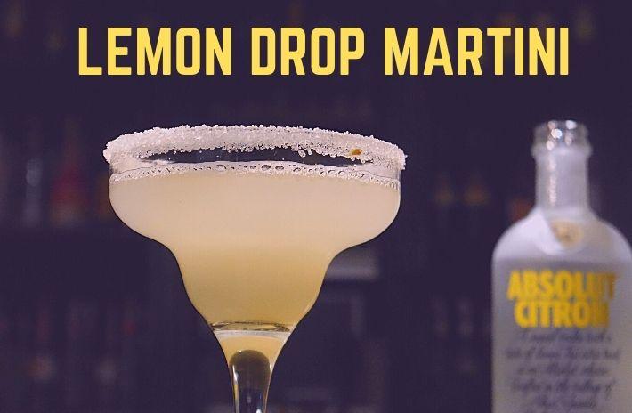 LEMON DROP MARTINI COCKTAIL Recipe